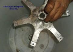 colocao suporte do cesto thumb Curso Reforma Mecânica Lavadora Electrolux LM06