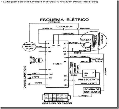 image thumb26 Testando os componentes da Lavadora Electrolux LE08