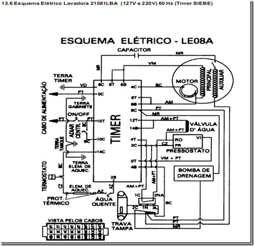 image thumb30 Testando os componentes da Lavadora Electrolux LE08