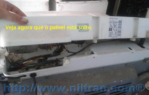 painel Como Trocar o Timer da Lavadora Electrolux LE08