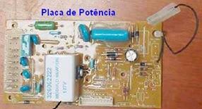 placa de potncia lavadoras ConsulCWL75A eCWL10B thumb Desmontagem e Testes das Lavadoras Consul CWL75A e CWL10B