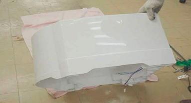 retirada  base tanque ao gabinete lavadora consul floral 7kg thumb Desmontagem e Testes da Lavadora Consul Floral 7kg