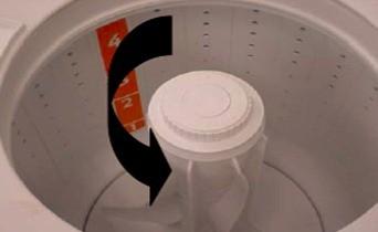 retirada filtro de fiapos lavadoras consulCWL75A e CWL10B thumb Desmontagem e Testes das Lavadoras Consul CWL75A e CWL10B