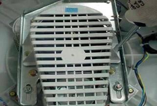 retirada proteo polia lavadoras consulCWL75A e CWL10B thumb Desmontagem e Testes das Lavadoras Consul CWL75A e CWL10B