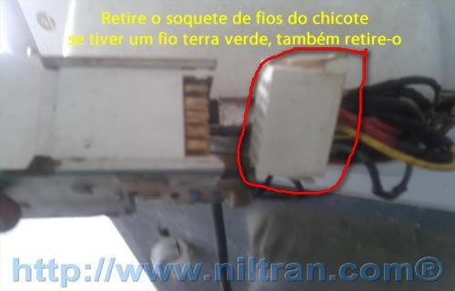 soquete de fios Como Trocar o Timer da Lavadora Electrolux LE08